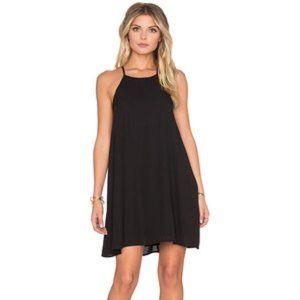Show Me Your Mumu Black Martini Evening Mini Dress